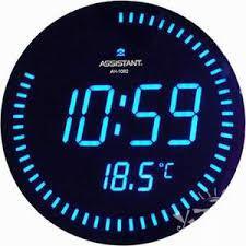 Электронные настенные часы