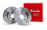 Диск тормозной передний Ваз 2108-21099,2113-2115 (кт 2 шт) Brembo