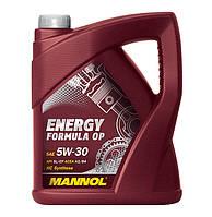 Моторне масло Mannol Energy Formula OP 5w30 5л