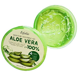 Увлажняющий гель с алое ESFOLIO MOISTURE SOOTHING GEL ALOE VERA 100% PURITY