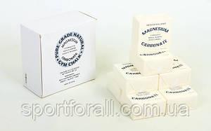 Тальк гимнастический (магнезия) C-0027 (в уп. 8шт, цена за 1шт, белый)