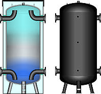 Буферная емкость для систем холодоснабжения Meibes KWP 500 (без изоляции)