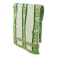 Махровое полотенце в цветную тонкую полоску