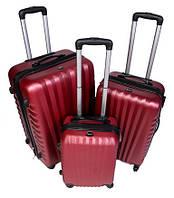 Дорожный чемодан Gravitt 888 (средний) бордовый