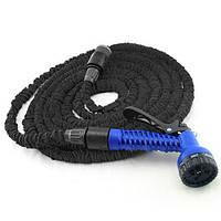 Шланг для полива X Hose Pro с пластиковыми соединителями (30 м), чёрный