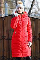 Теплое зимнее женское пальто Корнелия  Нью Вери (Nui Very) в Украине по низким ценам