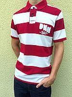 Мужское поло s.Oliver RED LABEL Poloshirt Striped DNM Vintage