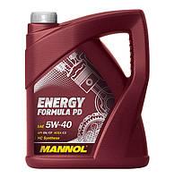 Моторное масло Mannol Energy Formula PD 5w40 5л  для сажевых фильтров