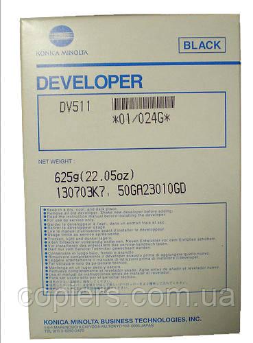 Developer DV511 Konica Minolta Bizhub 361/421/501/420/500, dv-511
