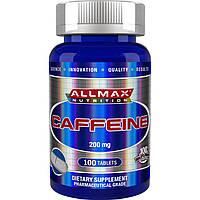 Caffeine 200 mg 100 таб All Max Nutrition