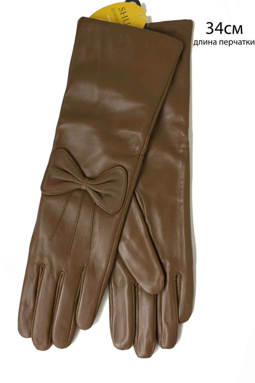 Женские перчатки длинные 340мм  Большие