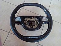 Карбоновый руль Mercedes W222 стиль AMG, Brabus, Maybach
