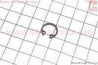 Стопорное кольцо поршневого пальца 12мм на мопед Карпаты