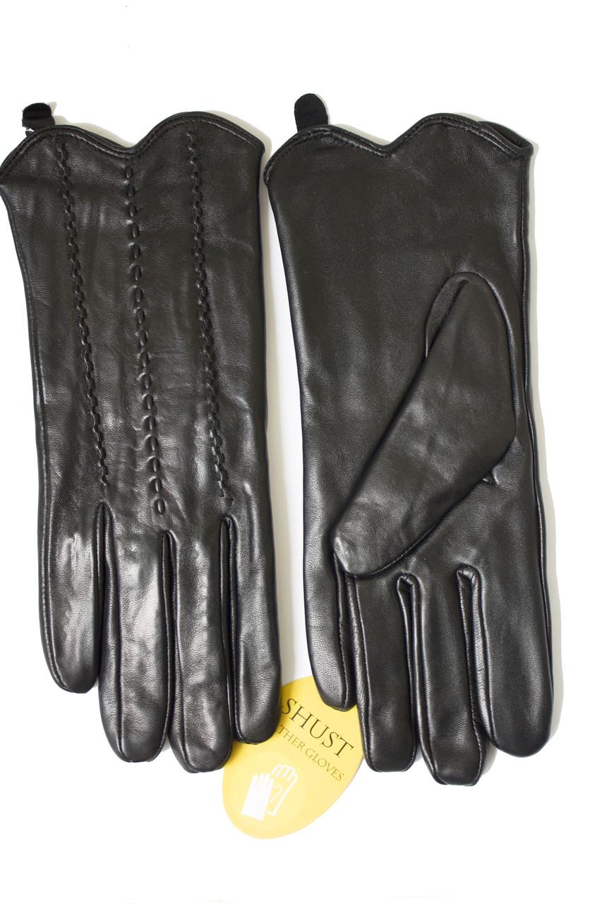 Женские перчатки Shust из кожи козы