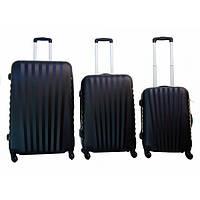 Дорожный чемодан Gravitt 888 набор 3 штуки синий
