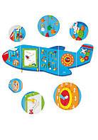 Многофункциональный развивающий центр Viga toys Самолет (50673)