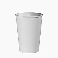 Стакан бумажный 340 мл.50шт.(40/2000) Белый