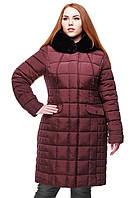 Зимнее женское пальто большого размера  Лара Нью Вери (Nui Very) в Украине по низким ценам