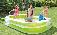 Семейный надувной бассейн Intex 262x175х56 cм  (56483)