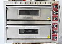 Печь электрическая для пиццы GAM EK 4+4 б/у