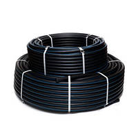 Трубы полиэтиленовые для подачи горючих газов, d-140 мм, ПЭ 100, SDR 17,6 (до 0,6 Mna)