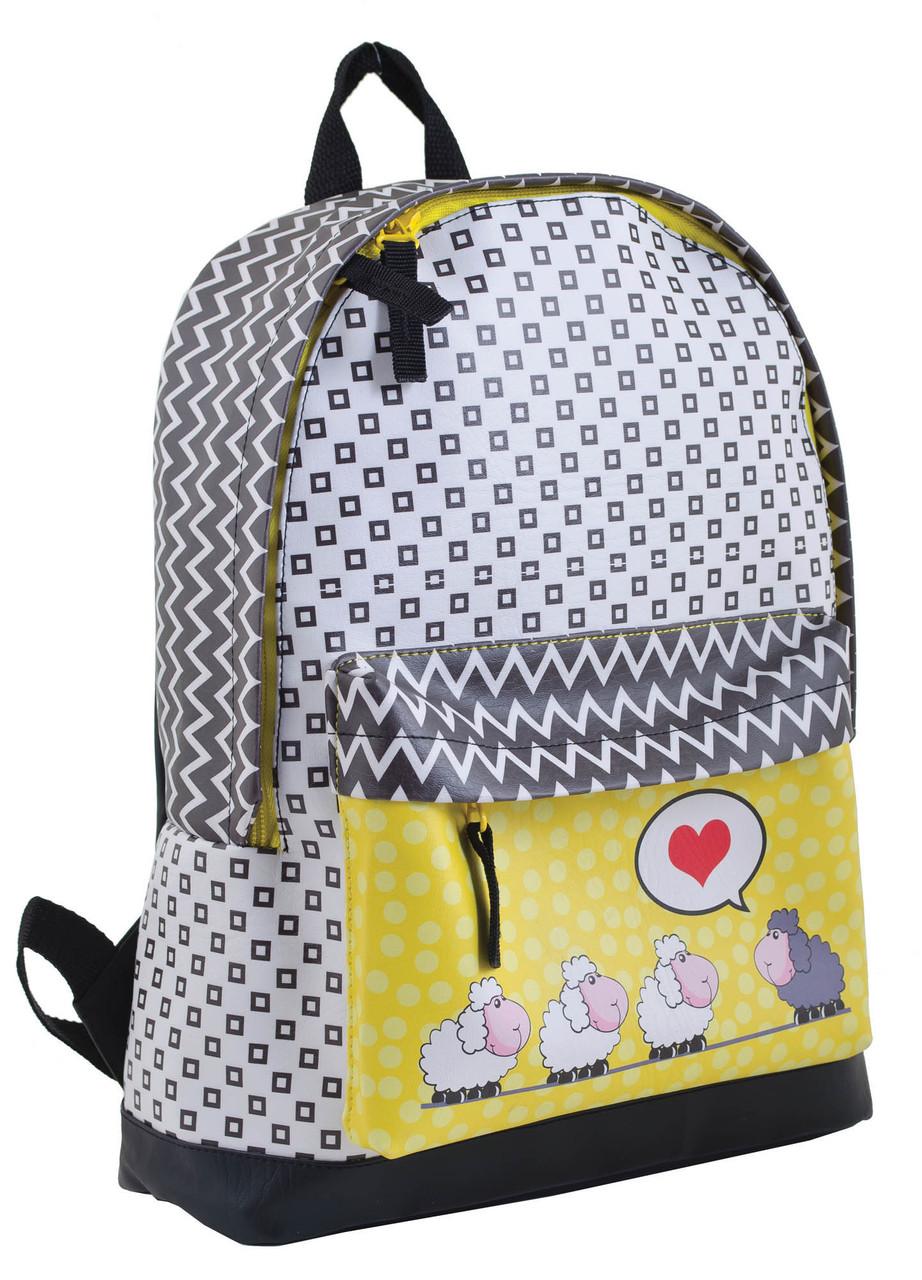 Рюкзак Yes ST-28 Love sheeps, разноцветный 13 л