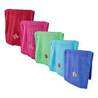 Полотенце для лица разных цветов