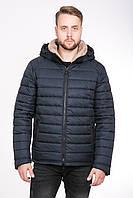 Теплая зимняя мужская куртка 46, черный