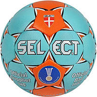 Мяч гандбольный Select Ultimate IHF (бирюз/оранж) размер 2