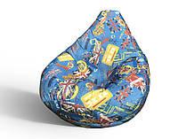Кресло-мешок груша 120*90 см Катони Британия, фото 1