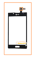 Сенсор (тачскрин) LG P700 Optimus L7, P705 Optimus L7 Black Original