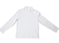 Детский белый голф для девочки, рр.104-128. ВОЛ (Cornett)