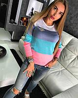 Пуловер Doratti женский модный кофточка c логотипом разные цвета SSdor106
