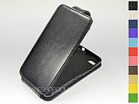 Откидной чехол из натуральной кожи для BlackBerry Z30