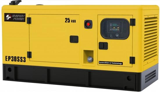 Генератор дизельный Energy Power EP30SS3 (20кВт)