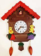 Детские настенные часымишки в теремочке L-26