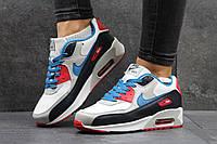 Женские кроссовки Nike Air Max белые с серым 2862