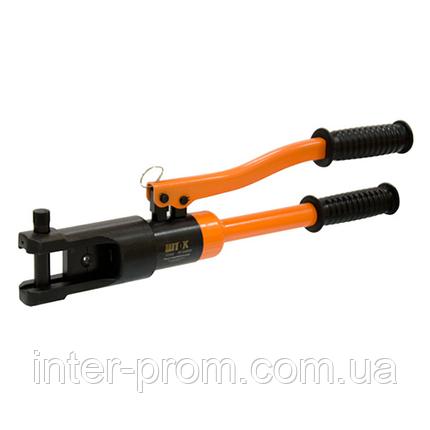 Гидравлический ручной пресс ПГ-300КМ ШТОК с клапаном предохранительным (10-300 мм.кв.), фото 2