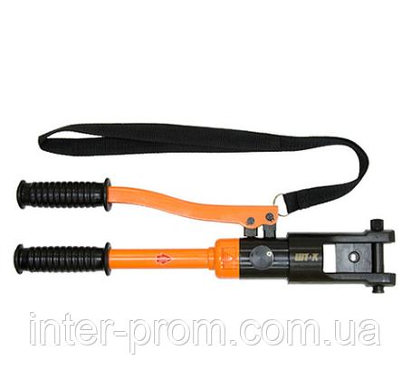 Гидравлический ручной пресс ПГ-300К / ПГ-300 КМ ШТОК с клапаном предохранительным (10-300 мм.кв.), фото 2