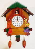 Детские настенные часыв виде домика L-28
