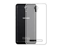 Ультратонкий 0,3 мм чехол для Doogee X7 Pro прозрачный