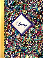 Ежедневник недатированный flowers, a5, желтый bm.2044-08