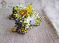 Тычинки китайские,желто-черные ,длинные ,на белой нити