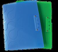 Папка с боковым прижимом omega a4, pp, ассорти 0410-0040-99