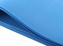 Фоамиран листовой  50 х 50 см., синий