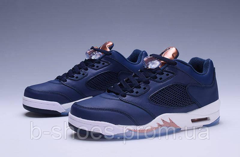 Мужские баскетбольные кроссовки Air Jordan Retro 5 low (Bronze)