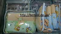 Полнокомплектное постельное для детской кроватки Белорусские ткани