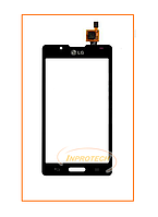 Сенсор (тачскрин) LG P710 Optimus L7 II, P713 Optimus L7 II Black Original
