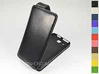 Откидной чехол из натуральной кожи для Alcatel 6033X One Touch Idol Ultra
