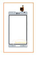 Сенсор (тачскрин) LG P710 Optimus L7 II, P713 Optimus L7 II White Original